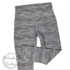 Lululemon Heathered Grey Crop Leggings